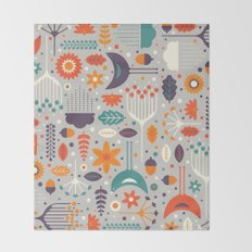 Flora & Fauna Throw Blanket