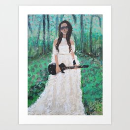 Music is my Muse Art Print