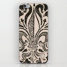 Distressed Fleur-de-Lis iPhone & iPod Skin