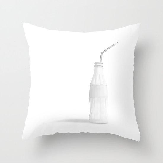 Addiction 3 Throw Pillow