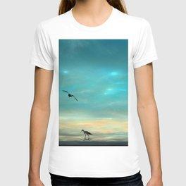 Fractlandia Beach Sunrise T-shirt