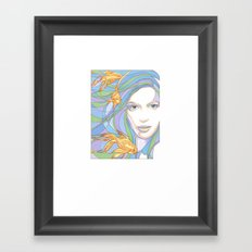 Mermaids are Dreaming Framed Art Print