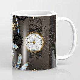 Steampunk Dragonflies Coffee Mug