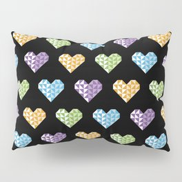 polygons in my heart Pillow Sham