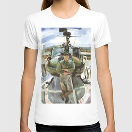 """""""Semper Paratus"""" - """"Always There, Always Ready"""" - Lt. Luciw of the R.I. Army National Guard T-shirt"""