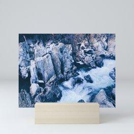 Flowing Spanish Creek Mini Art Print