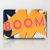 comic iPad Cases featuring COMIC BOOM by Allyson Johnson