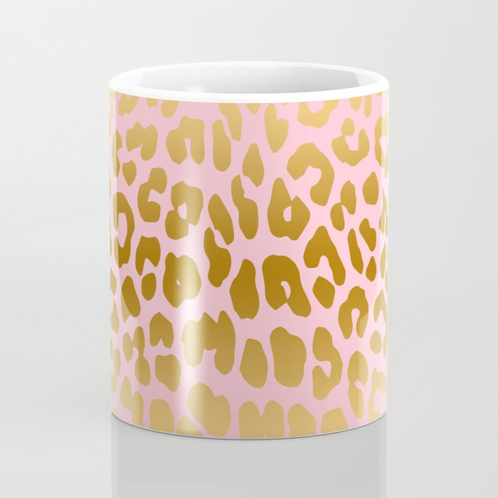 Leopard (Pink & Gold) Coffee Mug