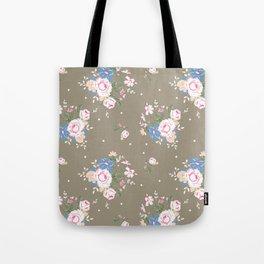 Heirloom Rose - Raw Umber Tote Bag