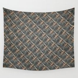 Strange Fibers - Bamboozled Braid Wall Tapestry