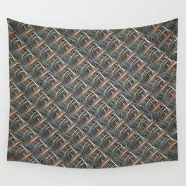 Strange Fibers - Bamboozled Braid Wall Tapestry