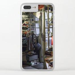 Flea market Clear iPhone Case