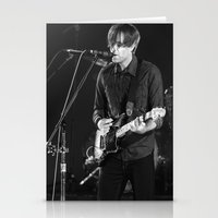 death cab for cutie Stationery Cards featuring Death Cab For Cutie by Adam Pulicicchio Photography