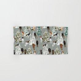 Coonhound Forest Green Hand & Bath Towel