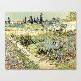Vincent Van Gogh : Garden at Arles Leinwanddruck