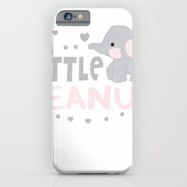 Little Peanut Baby Elephant t-shirt iPhone Case