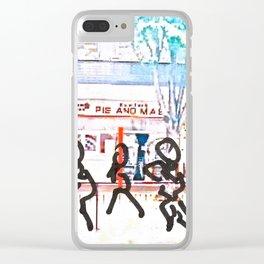 POP Walk Clear iPhone Case