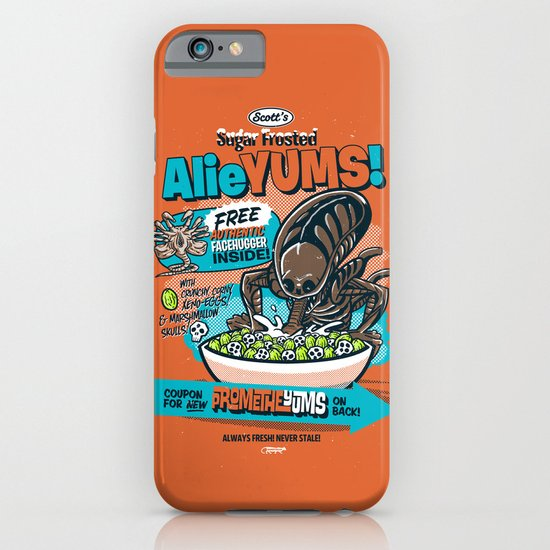 AlieYUMS! (orange variant) iPhone & iPod Case