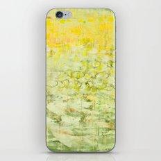 yellow greens iPhone & iPod Skin