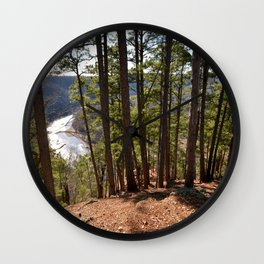 Climbing Up Sparrowhawk Mountain above the Illinois River, No. 7 of 8 Wall Clock