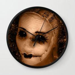 Broken Pierrot Wall Clock