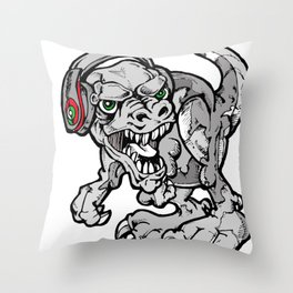 Dinosaurs Will Die Throw Pillow