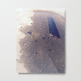 Dark Puddle Metal Print
