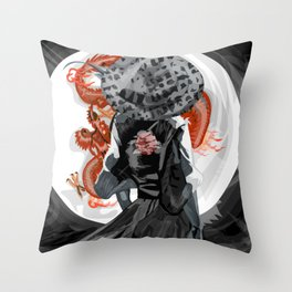 Ronin Throw Pillow