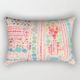 Big bubbles Rectangular Pillow