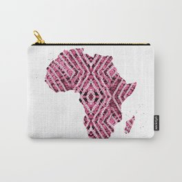 Africa in Pink Carry-All Pouch