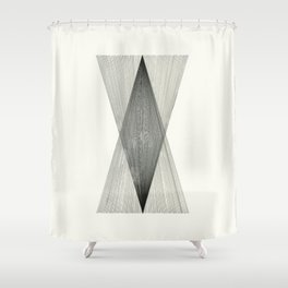 Intersect Shower Curtain