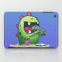 dinosaur iPad Cases featuring Dinosaur by Artificial primate
