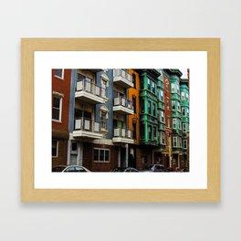 Boston Little Italy Framed Art Print