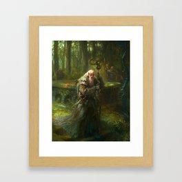 Mythic Britain - Merlin Framed Art Print