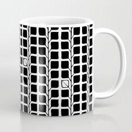 Into the Woods Leaves black Coffee Mug