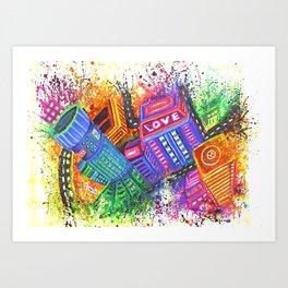 Enter the Void Part 2 Art Print