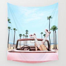 Long Beach Wall Tapestry