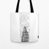 catwoman Tote Bags featuring Catwoman by justjeff