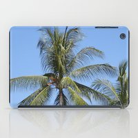 indonesia iPad Cases featuring Palm (Bali, Indonesia) by Christian Haberäcker - acryl abstract