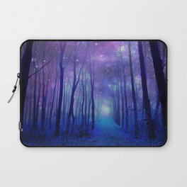 Fantasy Path Purple Blue Laptop Sleeve