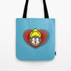 Indian Monkey God Icon Tote Bag