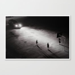 Game of Shadows Canvas Print