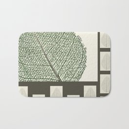 Space and Light and Order Quote #1 Bath Mat