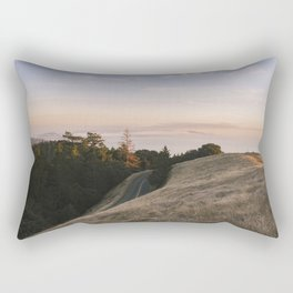 Mt. Tamalpais Sunset Rectangular Pillow