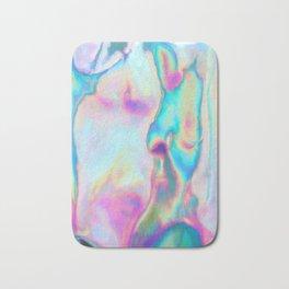 Iridescence - Rainbow Abstract Bath Mat