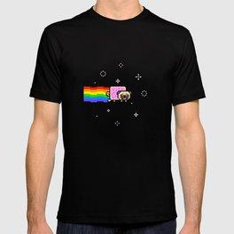 pug nyanpug T-shirt