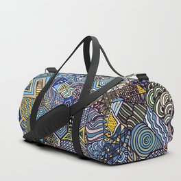 Midnight Wanderlust Duffle Bag