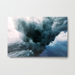 Crushing waves Metal Print