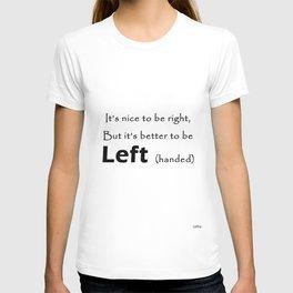 Proud Left handed T-shirt