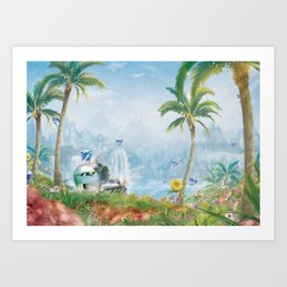 Recovered Freedom Art Print